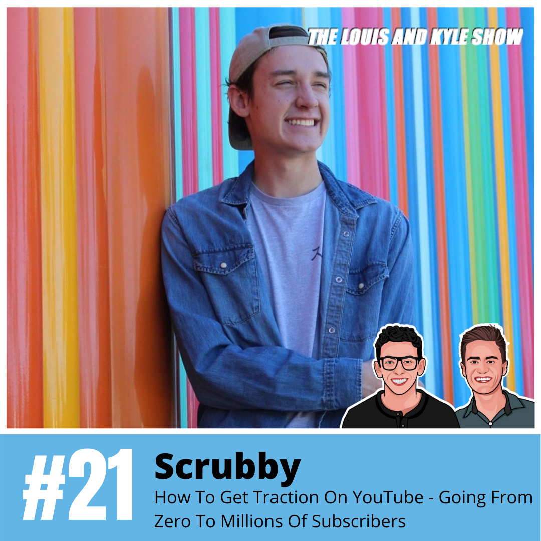 Ryan Agnew (Scrubby): How To Get Traction On YouTube - Going From Zero To Millions Of Subscribers