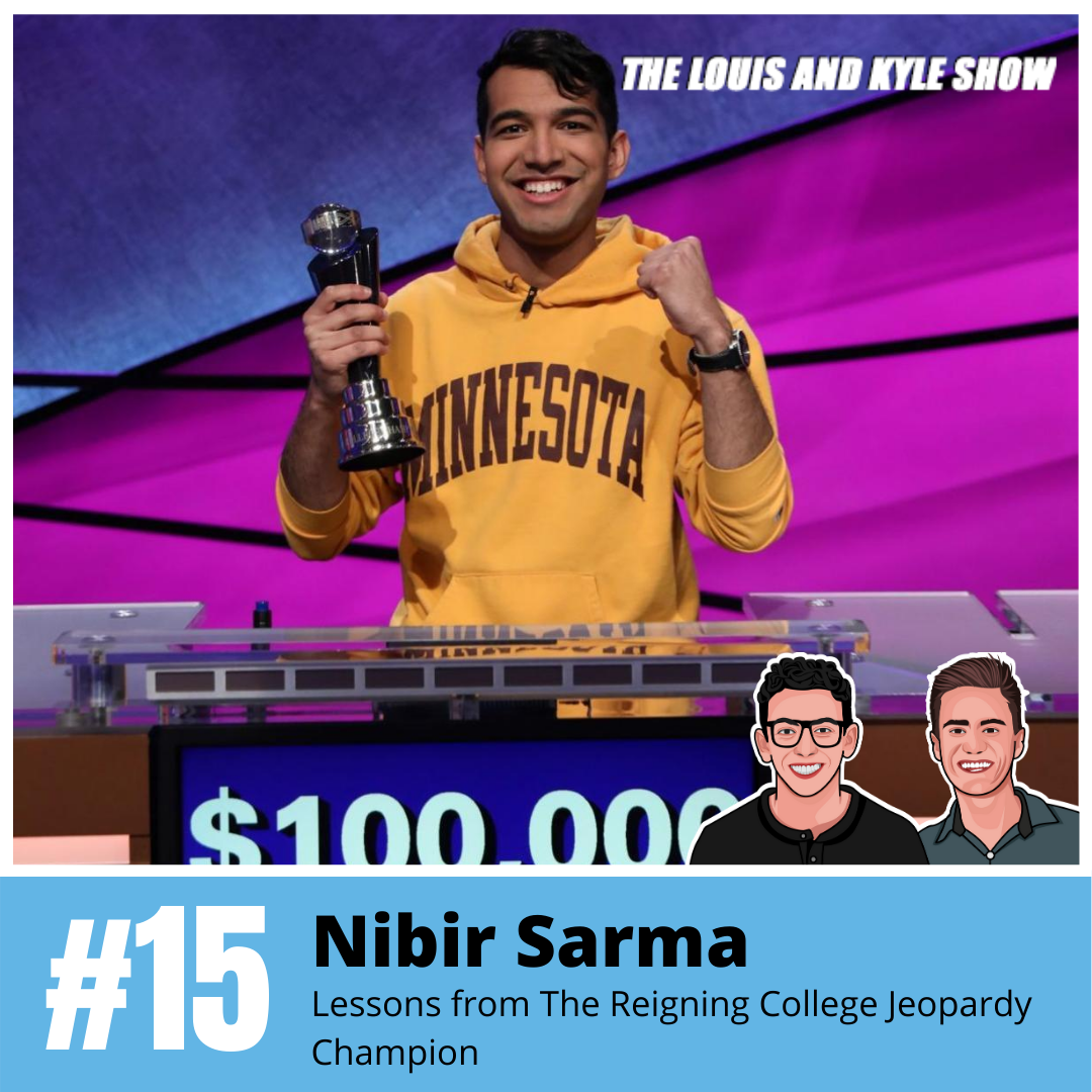 Nibir Sarma: Lessons from The Reigning College Jeopardy Champion