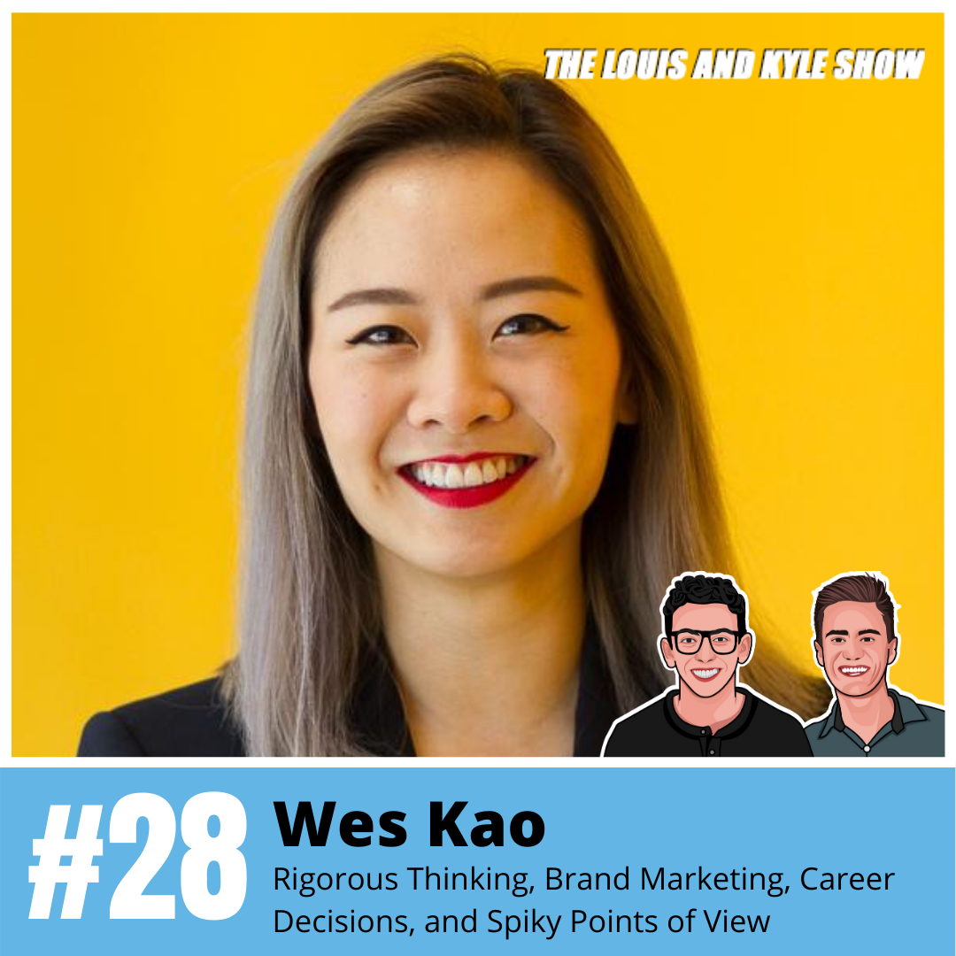 Wes Kao: Rigorous Thinking, Brand Marketing, Product Launches, Career Decisions, and Spiky Points of View