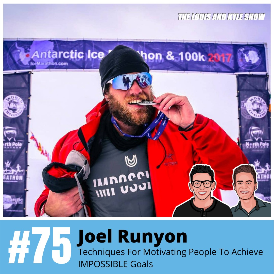 Joel Runyon - Techniques For Motivating People To Achieve IMPOSSIBLE Goals