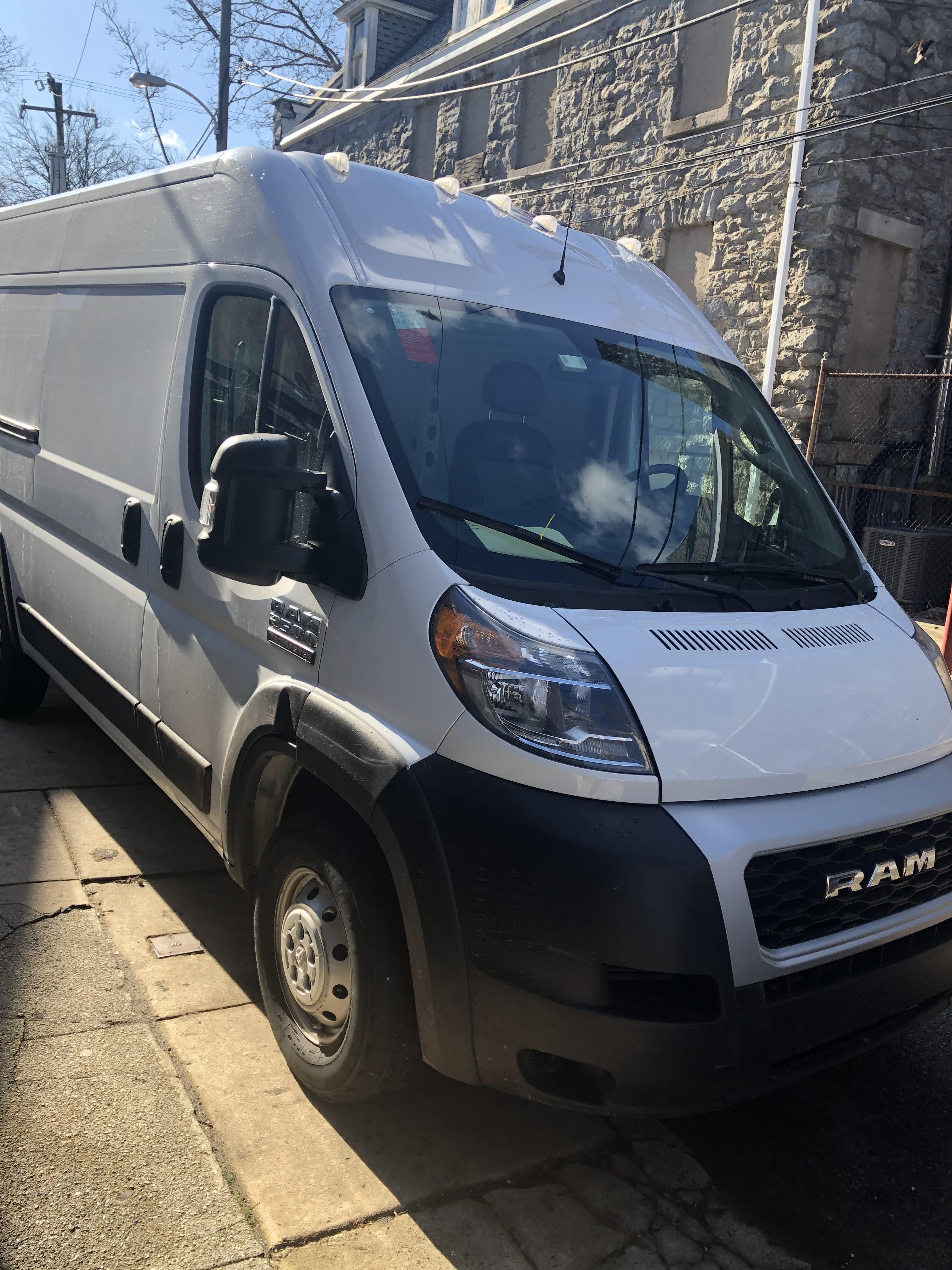 Aquino's Cargo Van