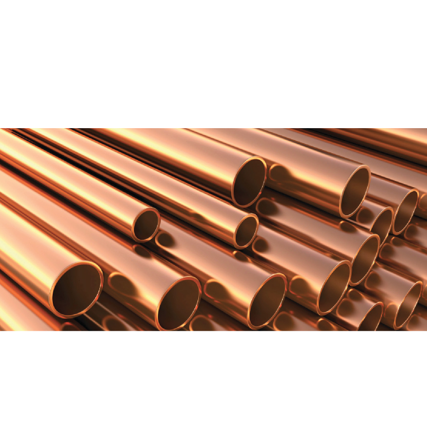 Medical grade copper tube designed for medical gas supply equipment and vacuum installations.