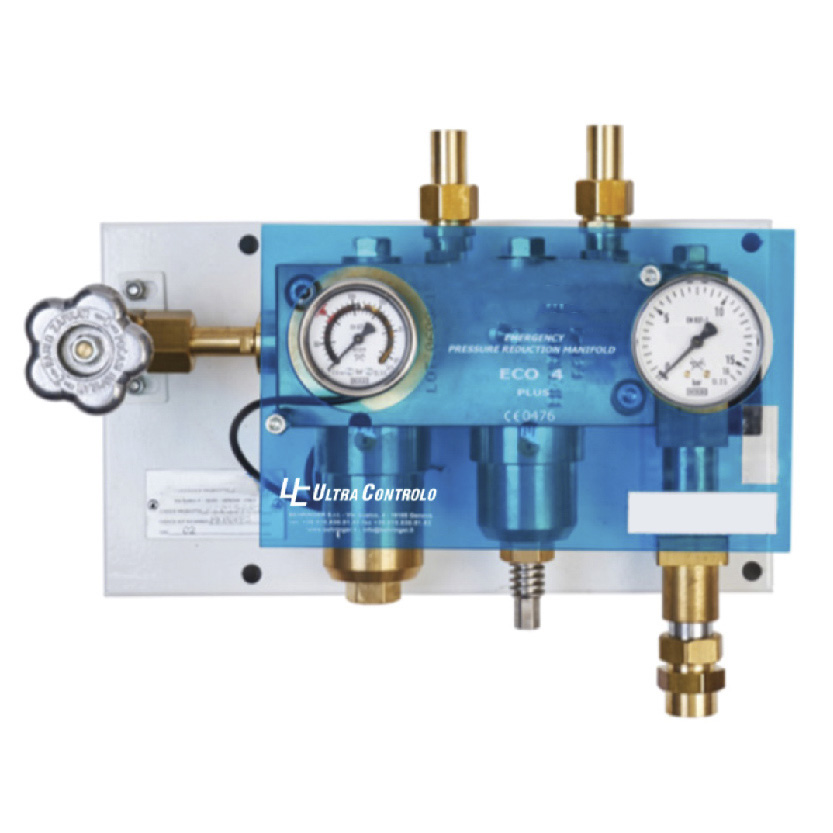 Third Source Control Panel QIS/E3-stage control module for medical gases.