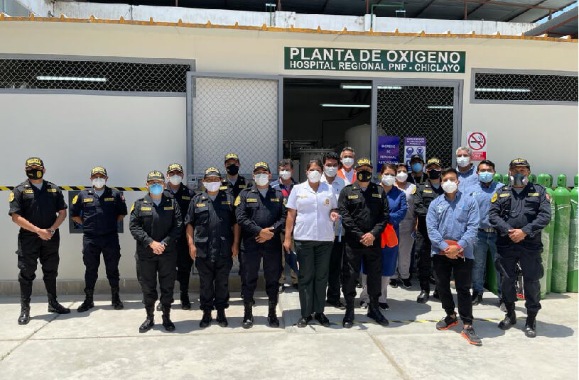 Ultra Controlo has just delivered two oxygen plants to save more lives in Peru!