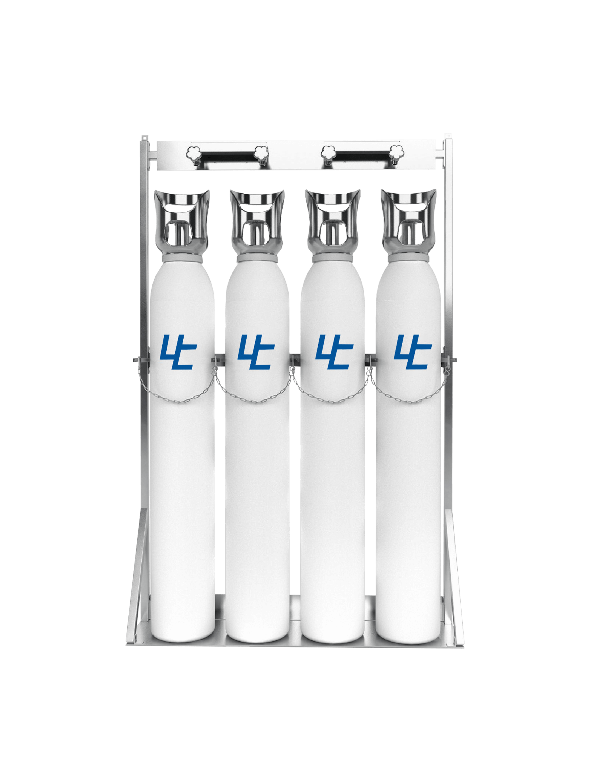 The most advanced fully automatic oxygen filling station in the gas phase. Equipped with the state-of-the-art high-pressure oxygen booster, ULTRACECO HP. High-quality Oxygen cylinders, Made in Europe, with TPED certificate can be provided together with the filling system.