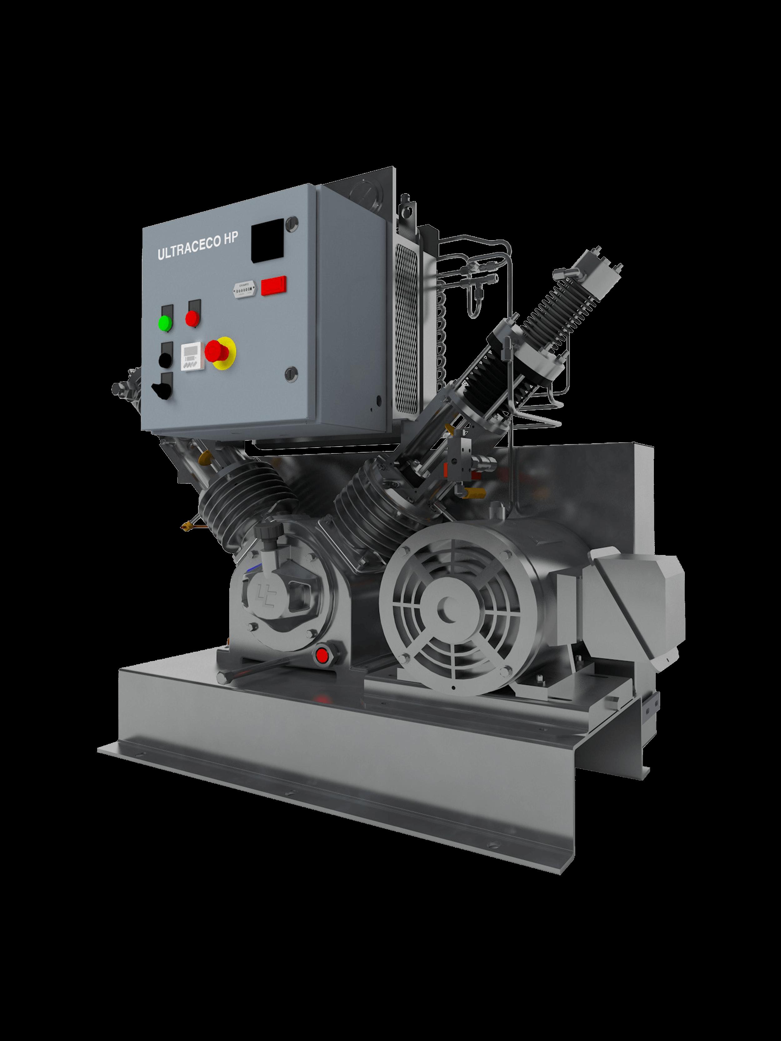 High-Pressure Oxygen Compressors