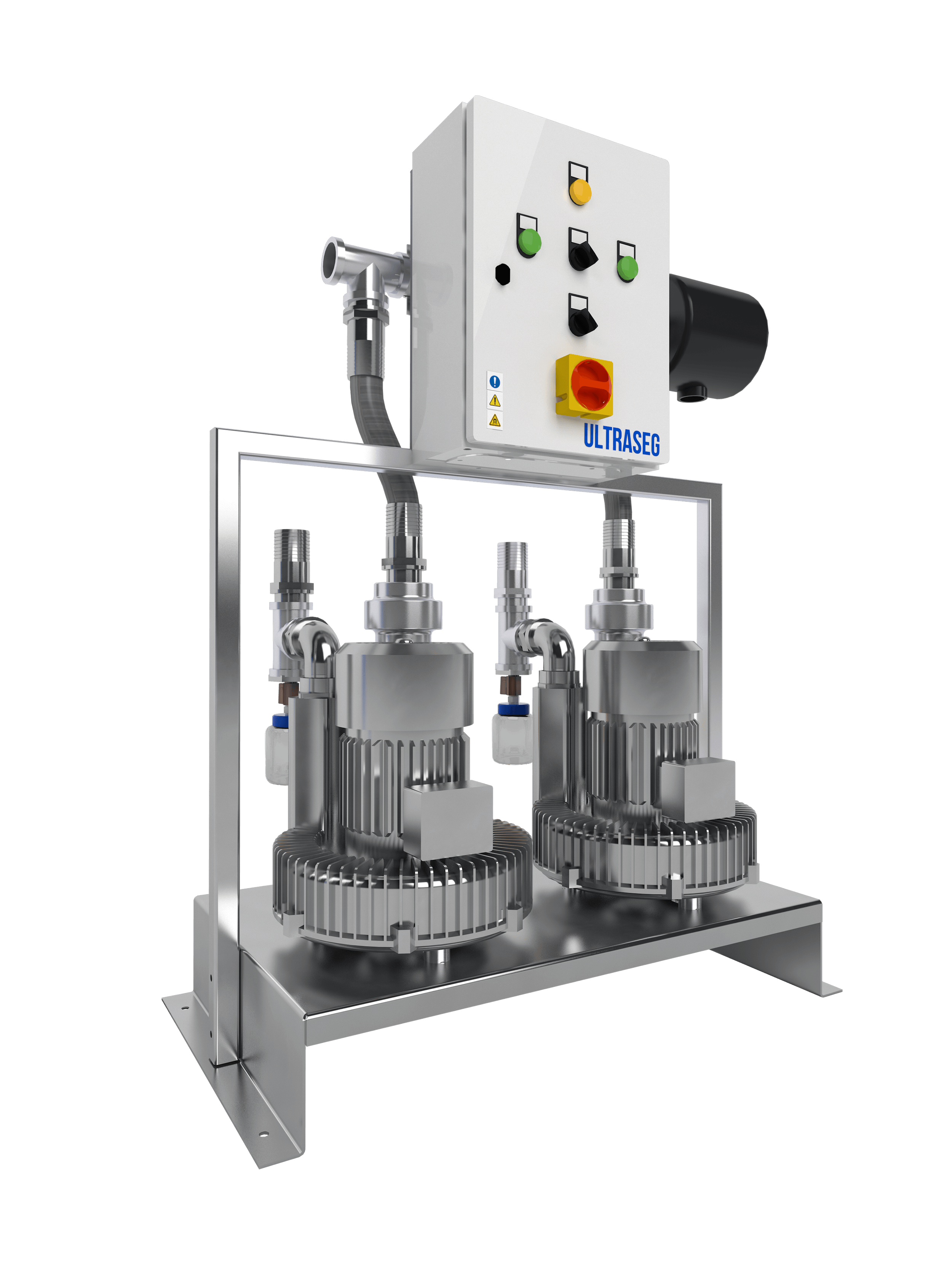 The Anaesthetic Gas Scavenging system is an active system based on the suction of anesthetic gas mixtures from operating rooms and others fitted with nitrous oxide terminal units.