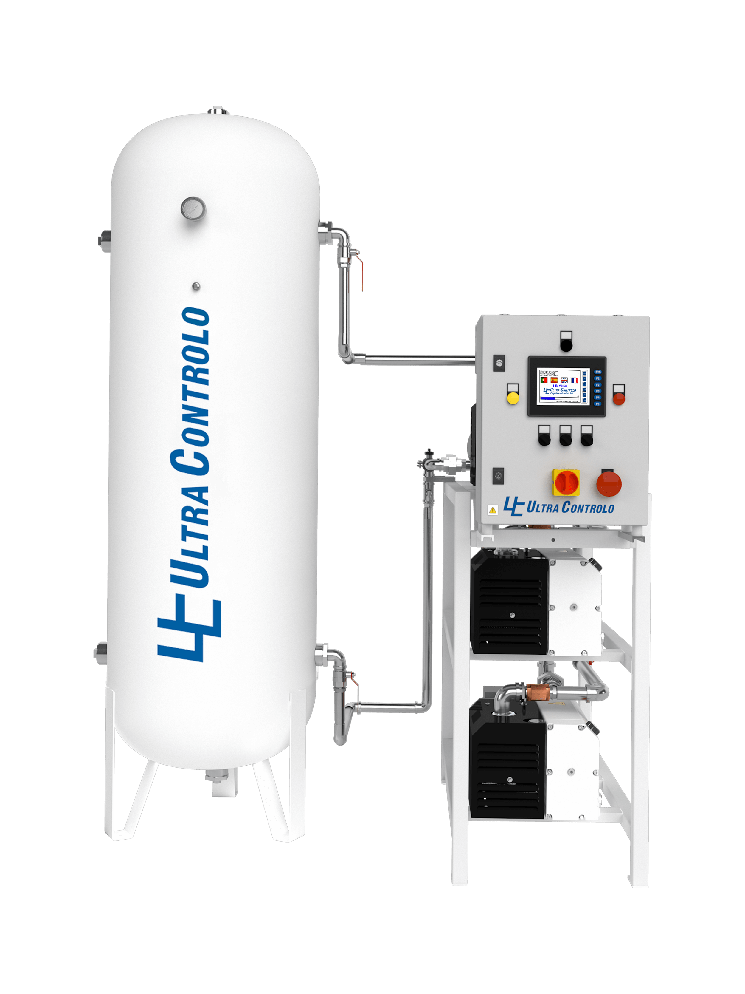 The ULTRAVAC plants aim to provide continuous medical vacuum for the hospital vacuum network. Our vacuum systems are fully automatic, very easy to install, and simple to operate and service.