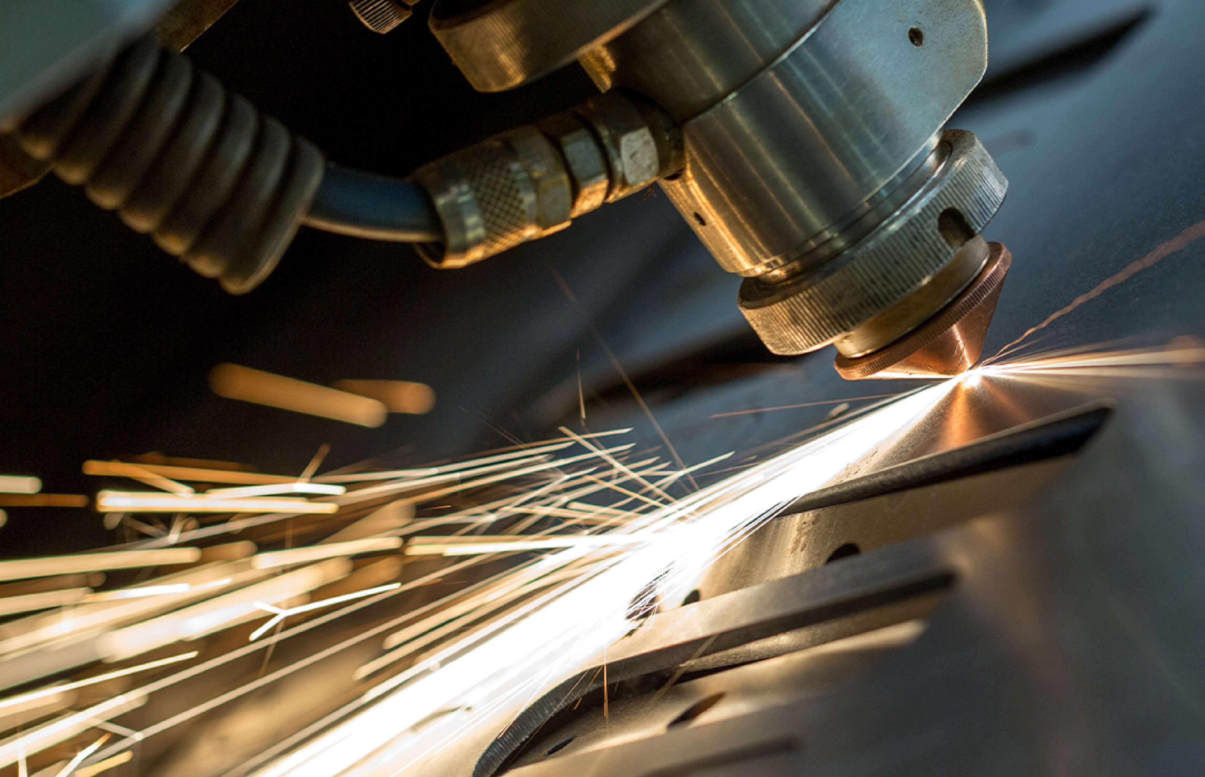 Laser cuttingdepends on an assist gas, which may be active or inert.The most standard is oxygen as an assist gas and nitrogen as an inert gas.