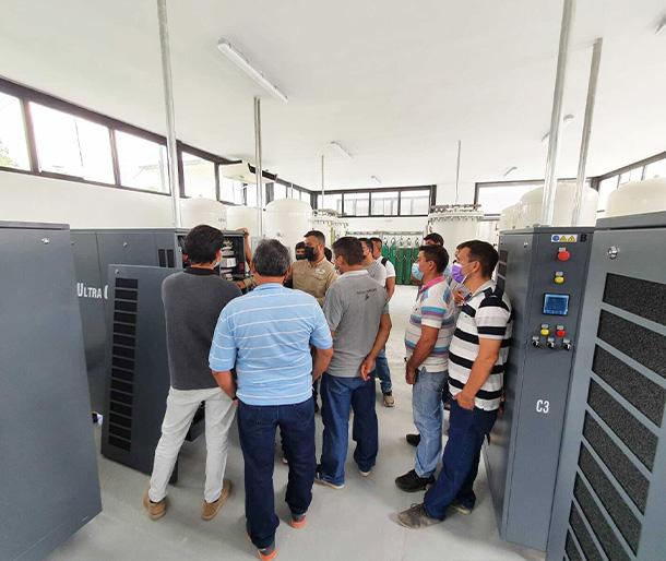 Second ULTRAOX Oxygen Plant derived to Tarapoto Hospital II, Peru