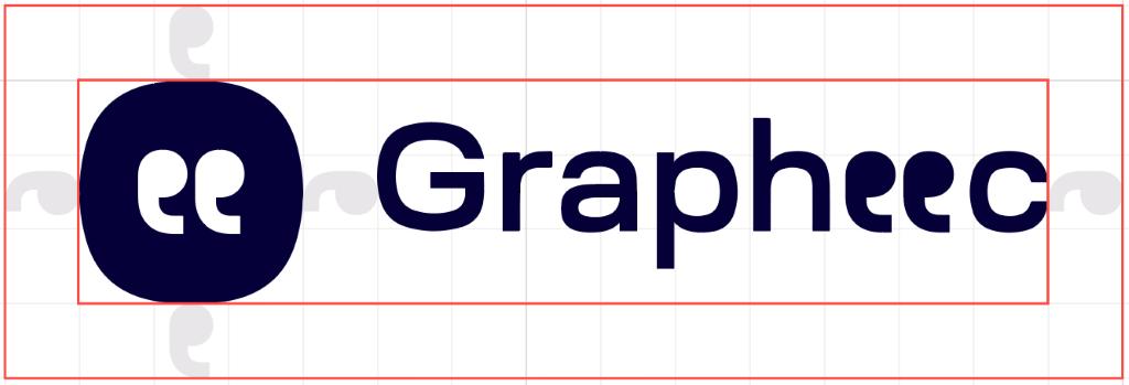 Grapheec Logo with Grids
