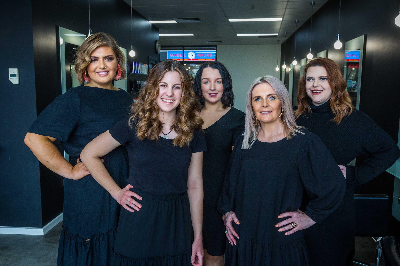 Group staff photo of Sharda Hair Dressers Pakenham