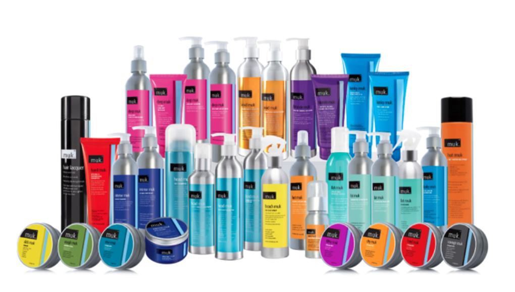 Muk hair care products available at Sharda Hair Pakenham