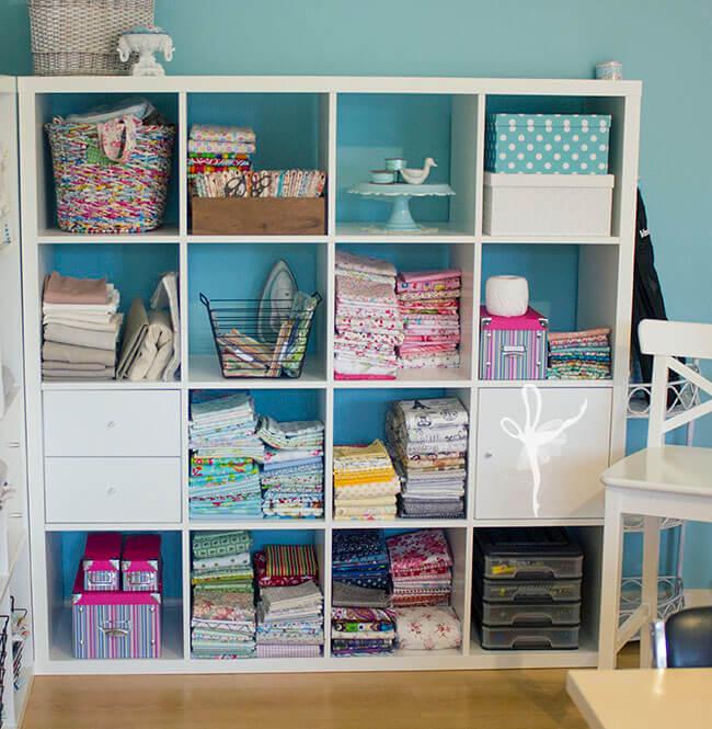 Shelves side shot