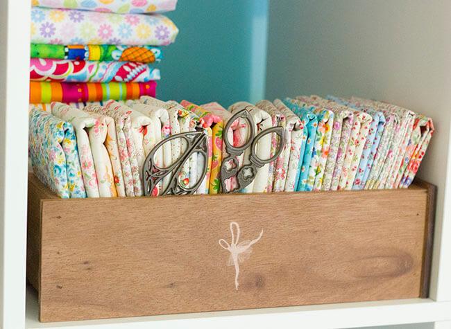 Japanese florals drawer