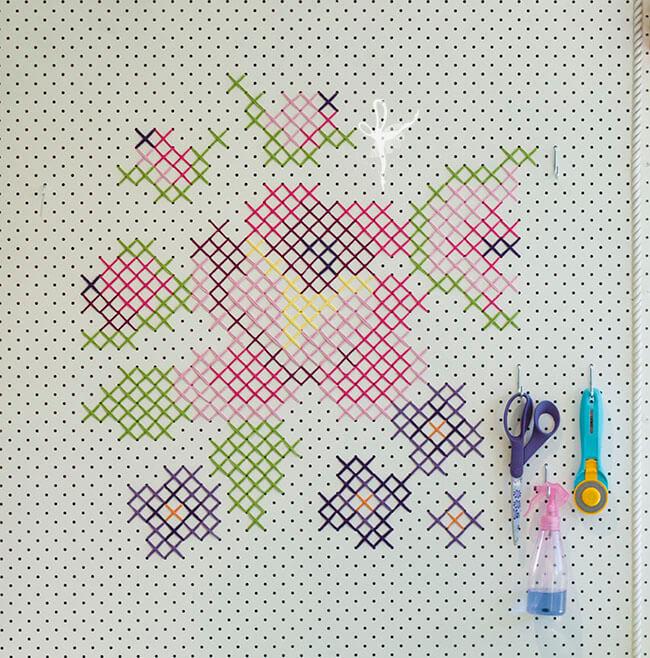 Cross stitch pinboard 02