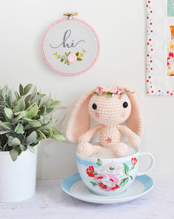 sedef's wynne bunny in cath kidston cup