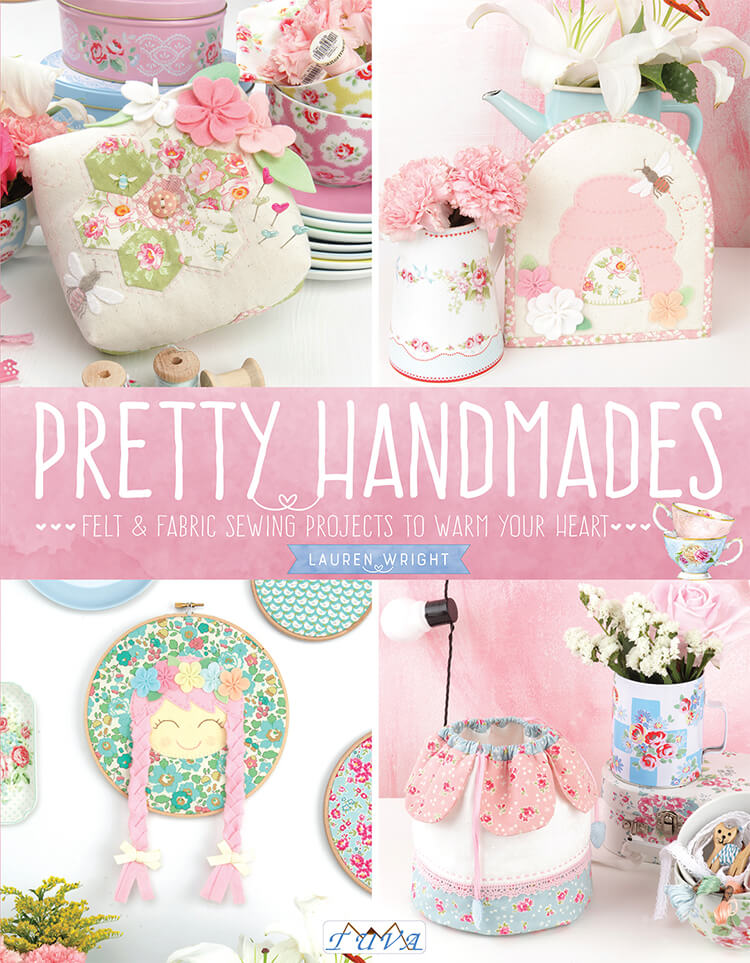 Pretty Handmades Blog Tour - Flower Friends Quilt book