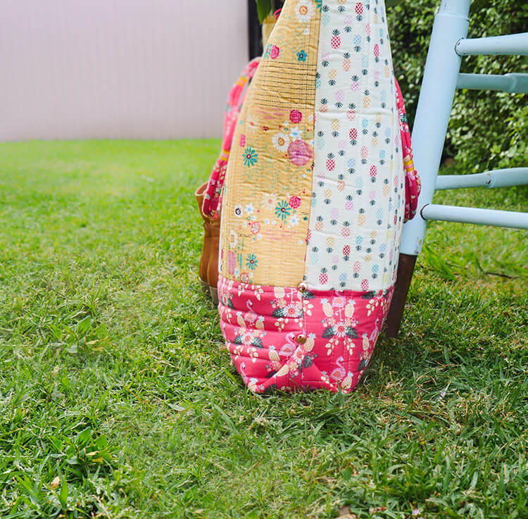 Tutorial: Boho Style Market Tote - bag assembly 03