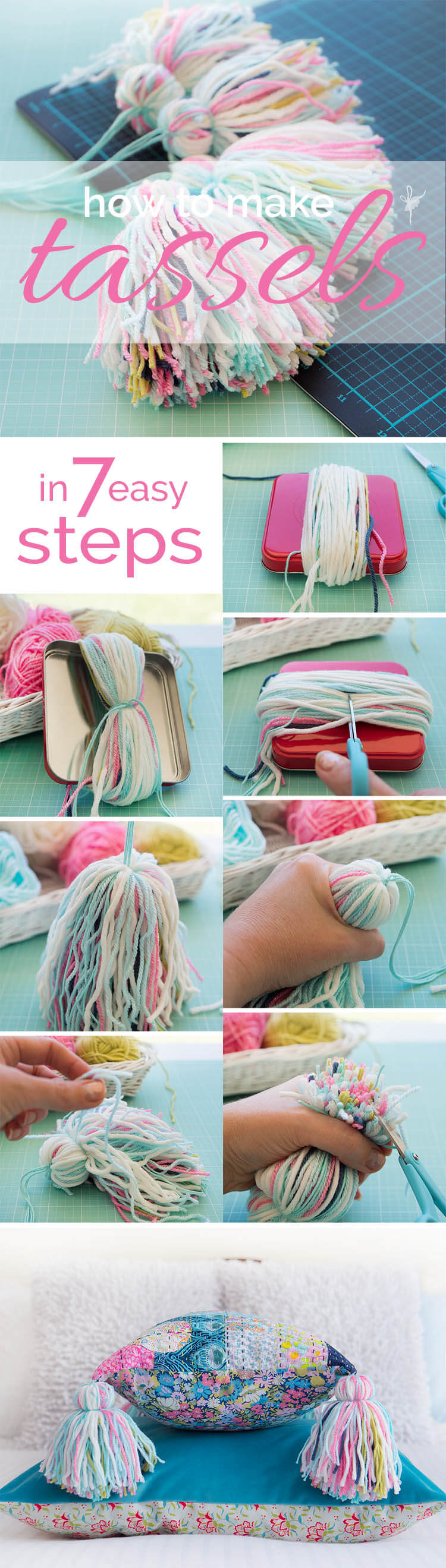 How to Make a Tassel in 7 Easy Steps