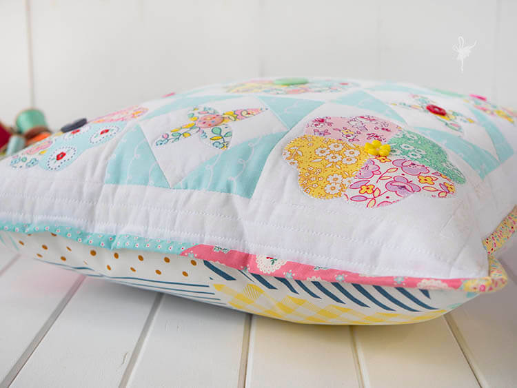 A Big Little Dolly Pillow - such a pretty view