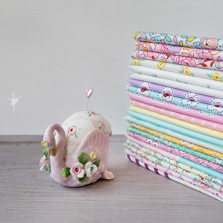 A Big Little Dolly Pillow - Little Dolly fabric collection