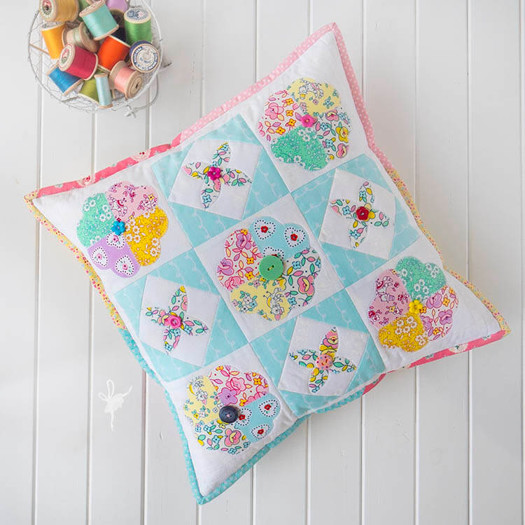 A Big Little Dolly Pillow - top down Little Dolly pillow