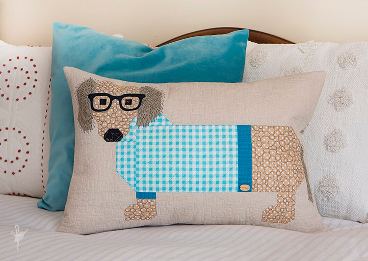 Dogs in Sweaters - Introducing Sebastian - beautiful essex linen and gingham checks