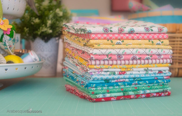 Dolls Bed Set - FREE PATTERN and Instructional Video - Mon beau jardin fabric