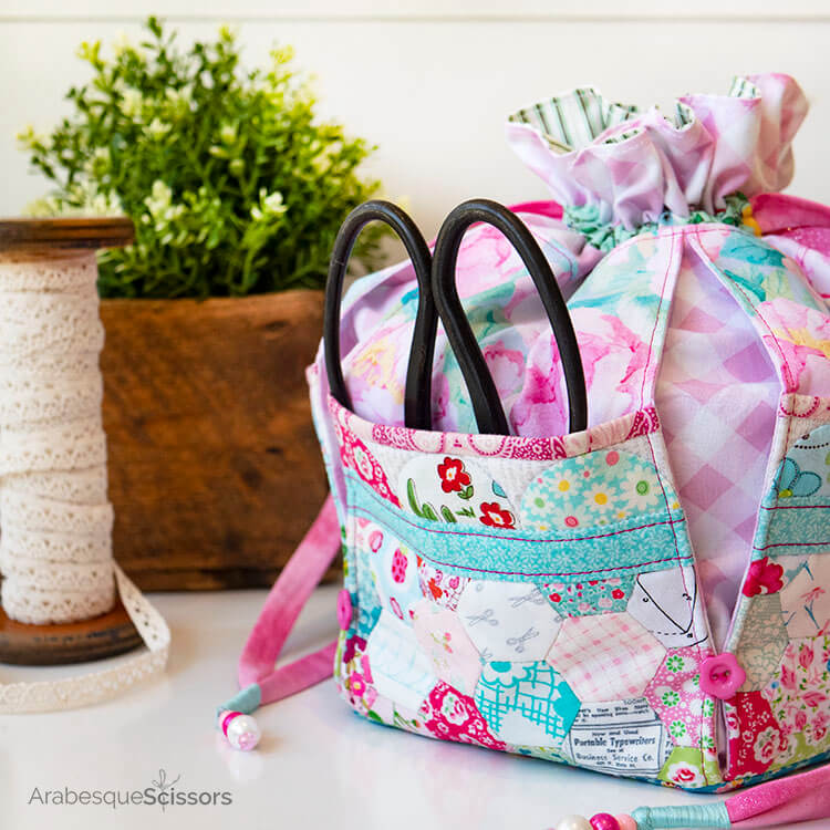 A Stitch in Time Dumpling Bag - large storage pockets