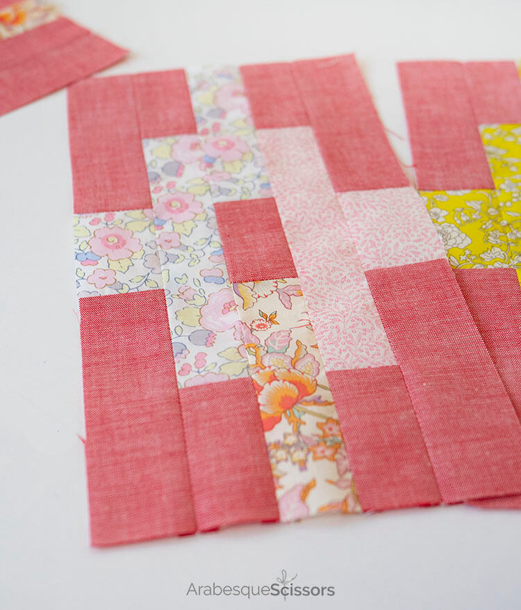 3 Tips for sewing with Liberty and Japanese Chambray - Sunset Isle QAL - Yummy sorbet colours