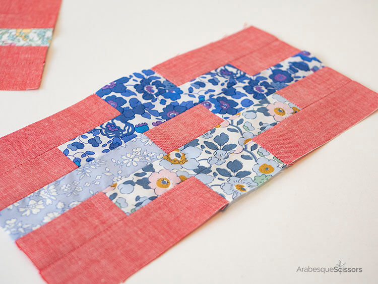 3 Tips for sewing with Liberty and Japanese Chambray - Sunset Isle QAL - Loving the blues