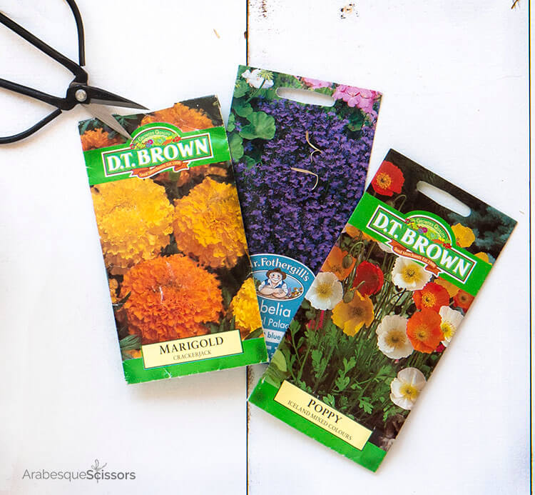 Grow Your Mini Quilt Garden One Seed Packet at a Time - and a GIVEAWAY!