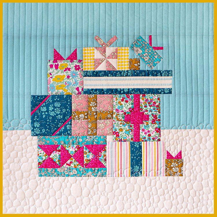 Gift Exchange - A Celebration of the Magic of Christmas (in July!) - quilting is only limited to your imagination