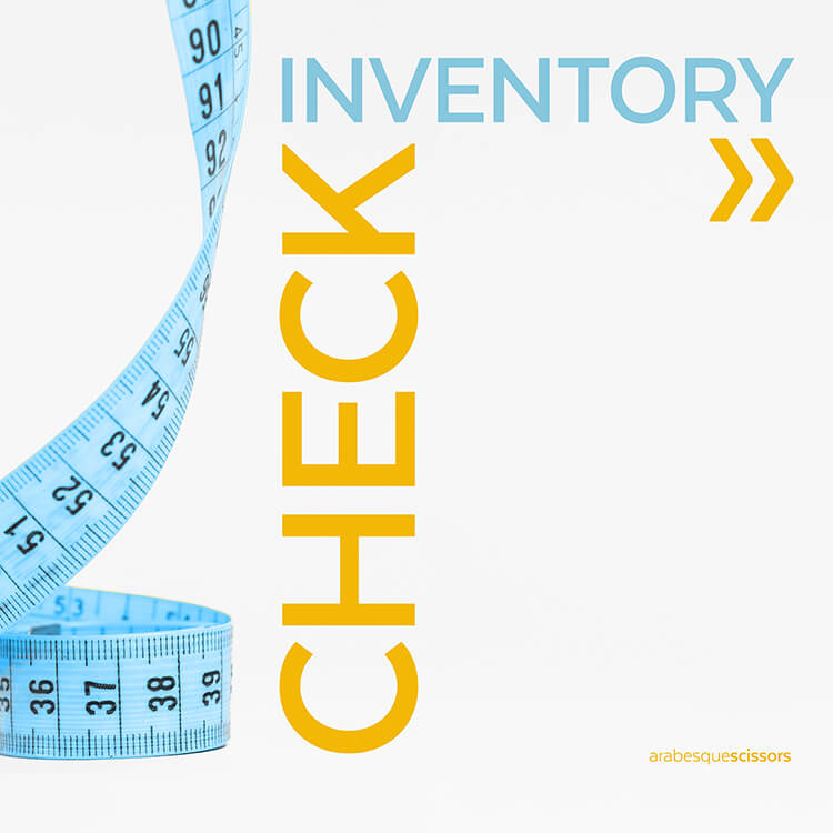 Streamline your Quilting: AKA how to get more done...CHECK YOUR INVENTORY