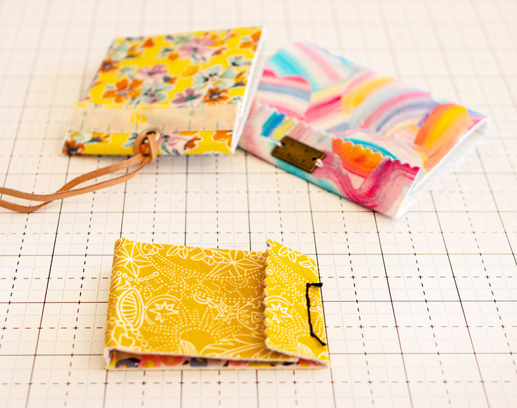 No Sew Liberty Needle Matchbook Tutorial - Beautiful together
