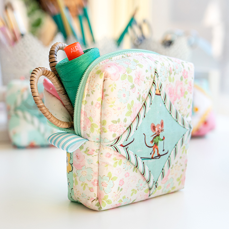 Easy Cathedral Windows Sewing Series - The Cute Cathedral Cube