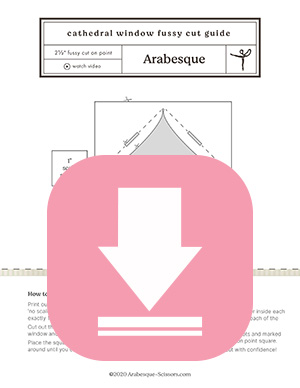 www.arabesque-scissors.com/articles/stop-wasting-fussy-cuts-the-easy-guide-to-cutting-on-pointe - FREE printable