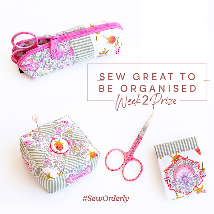 Sew Great to be Organised - Fabric Stash Prize Week 2