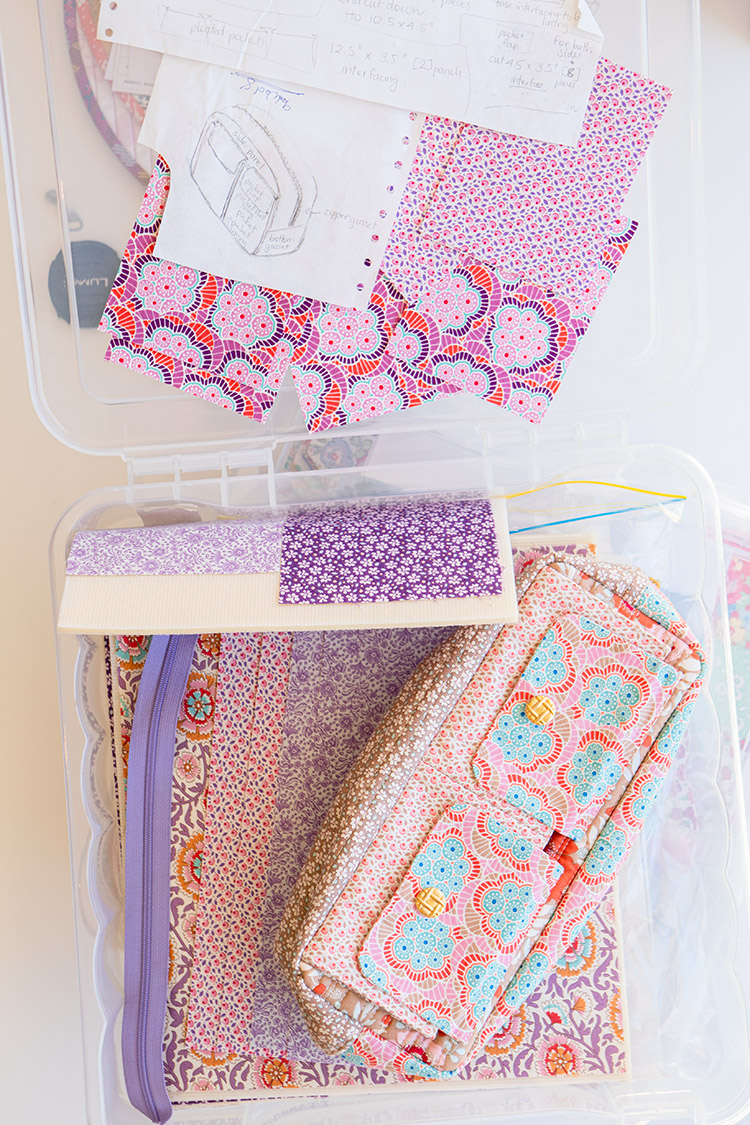 Sew Great to be Organized - Tilda Pouch Design Phase