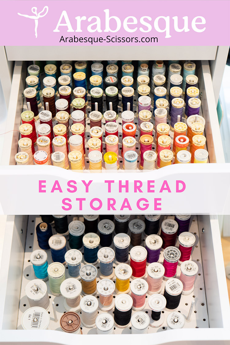 Clever Thread Storage Solution Ikea Hack