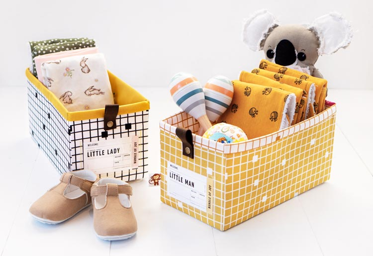 The Modular Giftbox - Give The Gift of Re-usable Storage - Made for Baby