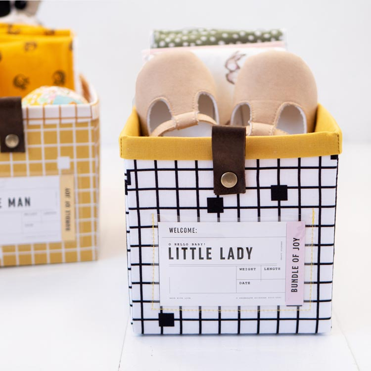 The Modular Giftbox - Give The Gift of Re-usable Storage- Baby on Trend,and baby shoes