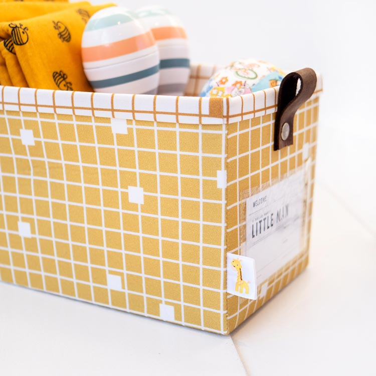 The Modular Giftbox - Give The Gift of Re-usable Storage - cute ribbon tabs