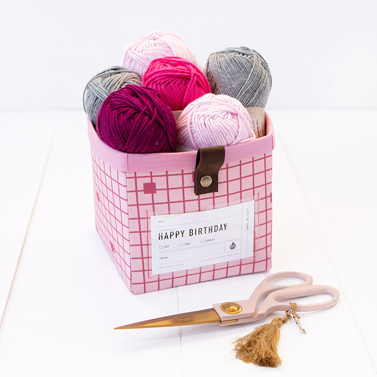 The Modular Giftbox - Give The Gift of Re-usable Storage - yarn over purl one