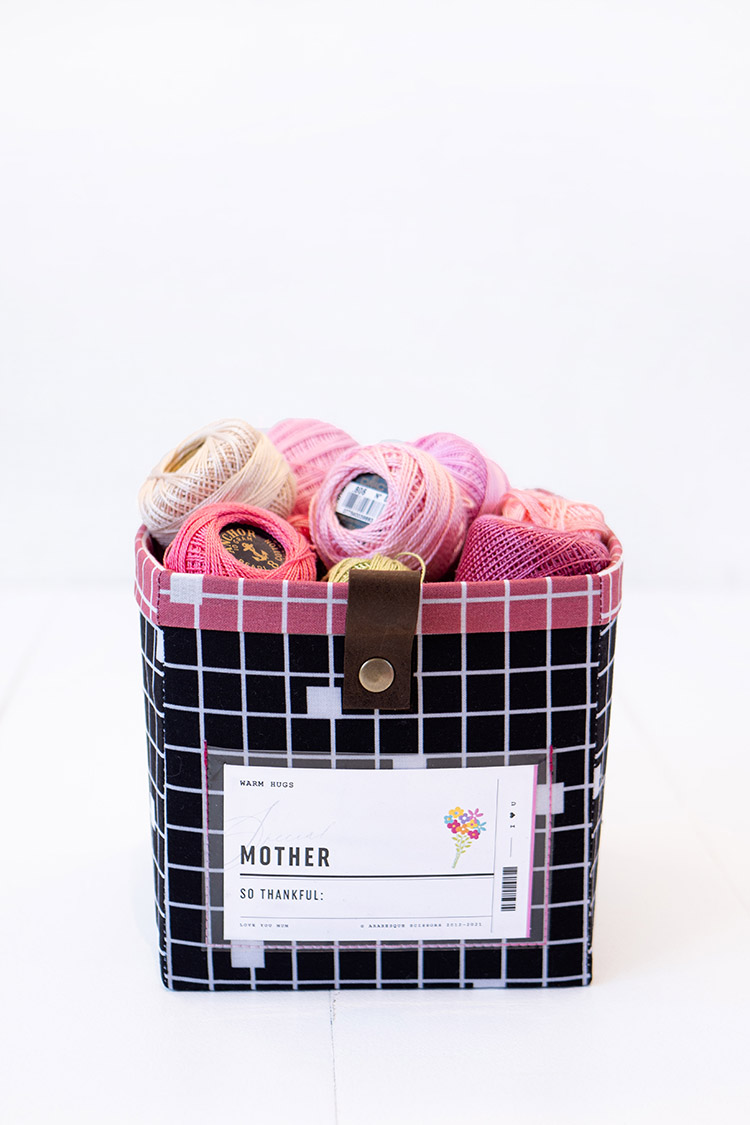 The Modular Giftbox - Give The Gift of Re-usable Storage - A stitchy box