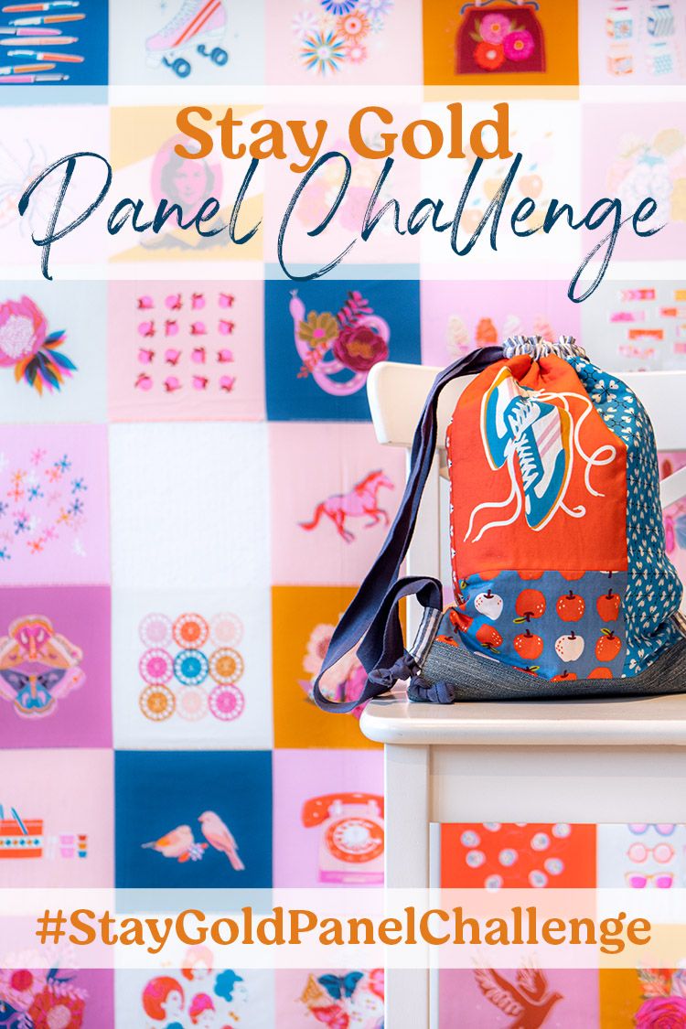 Back to School Backpack Tutorial - Stay Gold Panel Challenge Project 2 - missing pieces