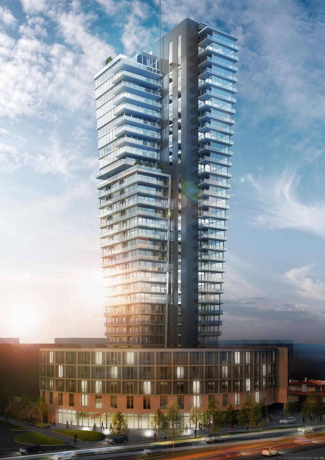 "Linus Capital grants 85 million Euro loan for high-rise development ""SLT 107 Schwabenlandtower"" of CG Group"