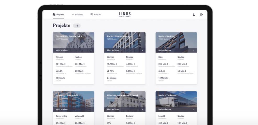 Expansion of the digital real estate investment platform: LINUS initiates next development step