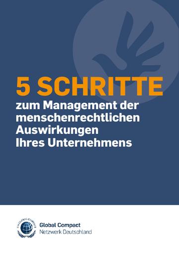 5 Schritte zum Management der menschenrechtlichen Auswirkungen Ihres Unternehmens